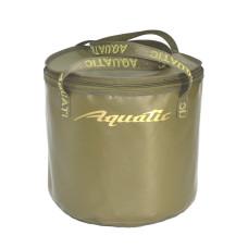 Ведро Aquatic В-04 для замешивания корма (герметичное, с крышкой)