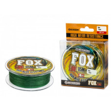 Плетеный шнур BUSHIDO FOX LINE X-4 (95 м) зеленый