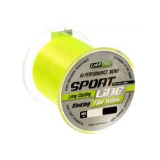 Леска Carp Pro Sport Line Fluo Yellow 300м