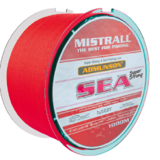 Леска Mistrall Admunson Sea Red 1000m