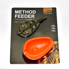 Кормушка Caiman с формой Method Feeder & Mould M