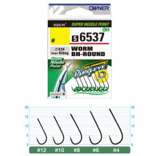 Крючки OWNER Worm BH-Round 56537
