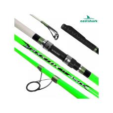 Серфовое удилище EastShark Warrior II Surf 100/250gr 4.5m 50 MM зеленый