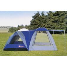 Палатка 4-х местная с шатром LANYU 1706