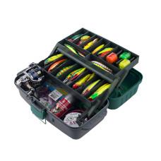Ящик рыболовный Три Кита ЯР-2 (2 лотка)