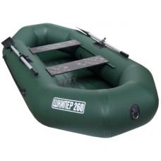 Лодка Шкипер 260 (зеленый)