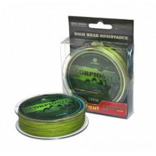 Плетеный шнур BUSHIDO SCORPION (100м) зеленый