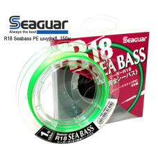 Шнур Seaguar R18 Seabass PE X8 150м