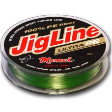 Шнур Momoi JigLine Ultra PE зеленый