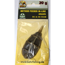 Кормушка фидерная Behr Method feeder IN-LINE 20 грамм