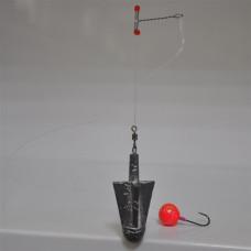 Оснастка (вставка) для ловли пиленгаса