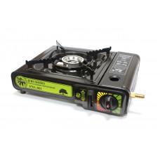 Газовая плита BUSHIDO 0701-001 с переходником,в кейсе (цвет черный)