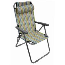 Кресло- шезлонг раскладное с подголовником