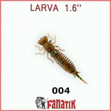 """Силиконовая приманка Fanatik LARVA 1.6"""""""