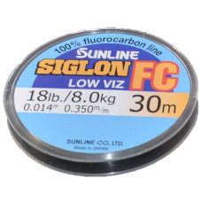 Леска флюорокарбоновая SUNLINE Siglon FC 30m Clear